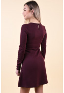 Rochie Dama Pieces Pcwonder Ls Dress Noos Winetasting