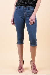 Pantaloni Scurti Dama Vero Moda Hot Seven Nw Medium Blue Denim