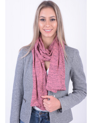 Fular Dama Only Onlfireija Knitted Pink Lemonade