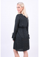 Rochie Dama Vero Moda Vmdragana Ls Abk Dress Black / Dragana