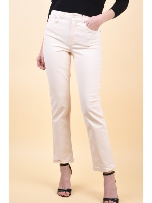 Blugi Dama Vero Moda Sara Mr Relaxed Stright Off White Denim