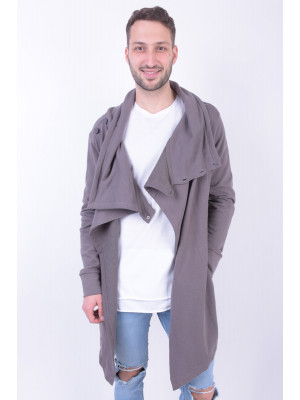 Cardigan Barbati Sublevel H1086l20505a Middle Grey
