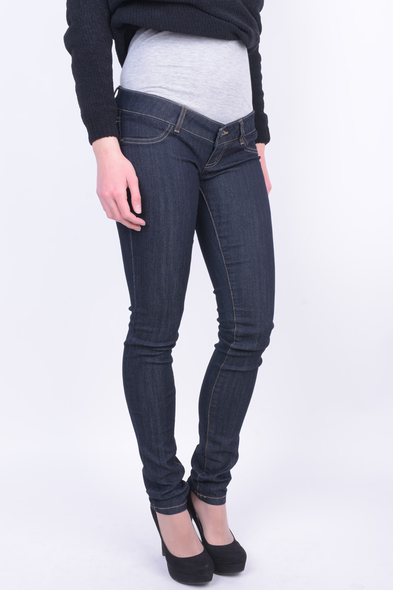 Blugi Dama Mama Licious Mljulia Unw Dark Blue Slim Dark Blue Denim