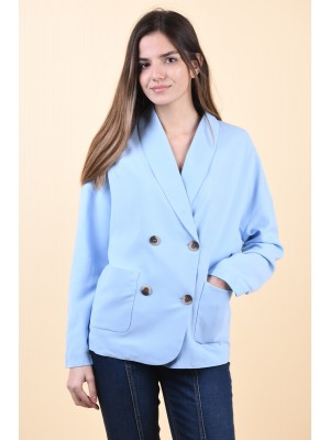 Sacou Dama Vila Rub Powder Blue