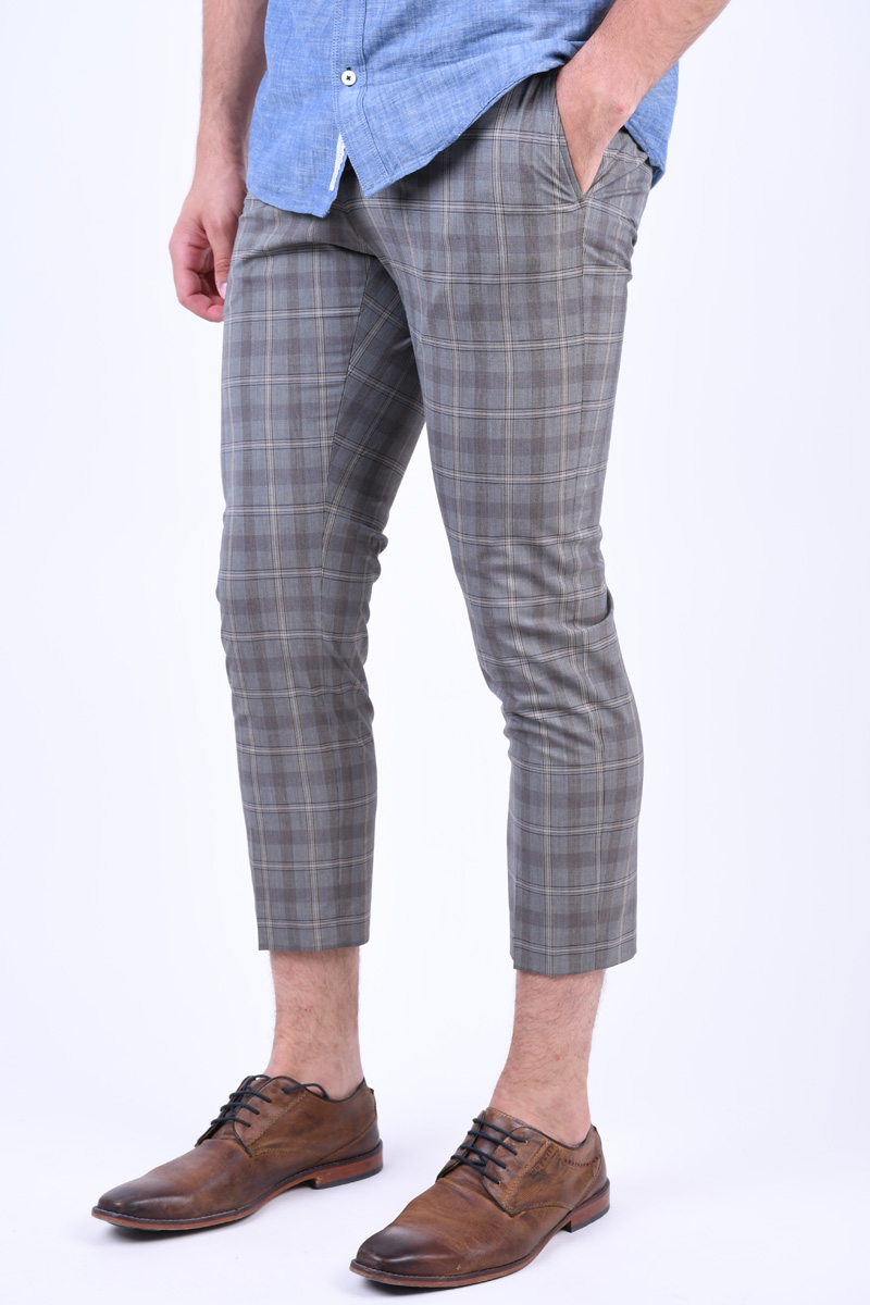 Pantaloni Barbati Selected Slim-Riclogan Sand