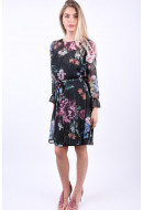 Rochie Object Ana Black/Floral