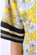 Bluza Dama Object Margret 3/4 Maize Flower