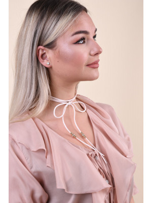 Colier Dama Pieces Pcgyros Choker Rose Dust