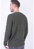Bluza Barbati Jack&Jones Jorlegion Crew Neck Forest Night