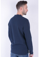 Bluza Barbati Jack&Jones Jorsaturday Crew Neck Total Eclipse
