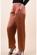Pantaloni Dama Vila Haiuka Rwrx Copper Brown