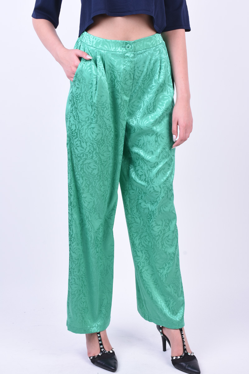 Pantaloni Dama Vero Moda Vmsexi Wide Long Holly Green