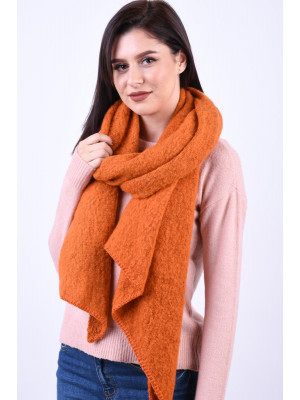 Fular Dama Pieces Pyron Long Scarf Rust