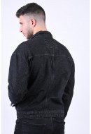 Geaca Barbati Only&Sons Rick Oversize Washed Black Denim