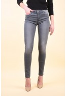 Blugi Dama Vero Moda Five Lw Super Slim Grey