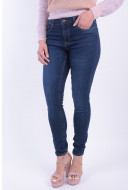 Women Jeans Pieces Pcfive Betty Dnm V101 Mw Skn Jn Db/Noos Dark Blue Denim