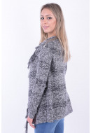 Cardigan Dama Eight2Nine D9402Z90539Aen Dark Grey