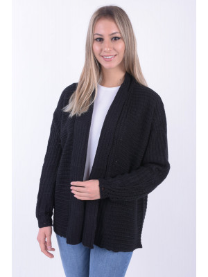 Cardigan Dama Fresh Made D9003A90481A Black