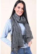 Fular Dama Pieces Olisa Shop Scarf Gri
