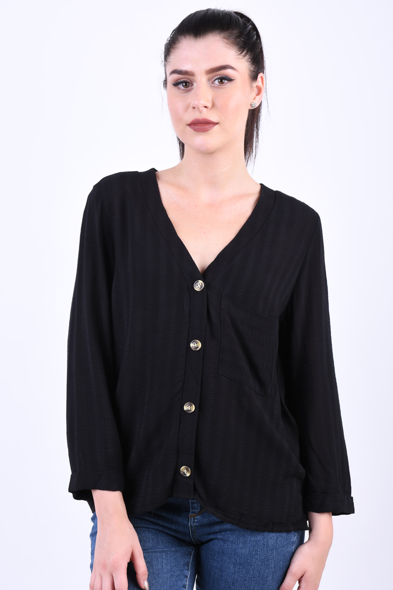 Bluza Dama Only Karoline 3/4 Black