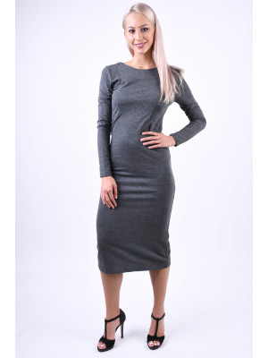 Rochie Selected Sasha Dark Grey Melange