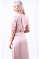 Rochie Vila Floating 2/4 Ankle Rose Smoke