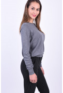 Bluza Dama Vero Moda Milda O-Neck Medium Grey Melange