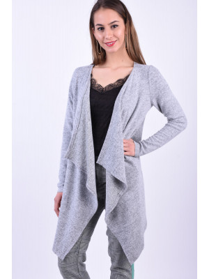 Cardigan Dama Vero Moda Tammi Light Grey Melange