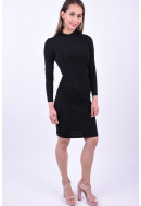 Rochie Vero Moda Serena High Neck Black