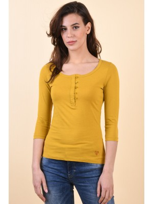 Bluza Dama Sublevel D12022Z02662A Dark Yellow