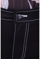 Pantaloni Dama Only Onloxford Wide Black
