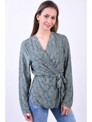Cardigan Dama Vero Moda Vmcecilia Wide Midi Laurel Wreath