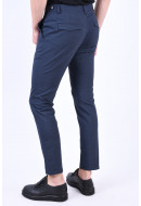 Pantaloni Barbati Selected Slim-Noah Blue Dephs