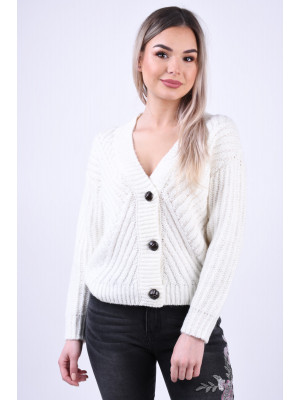 Cardigan Dama Urban Surface D90003W90697A White