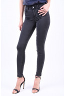 Blugi Dama Pieces Pcfive Betty Jeggings Grey/Noos Dark Grey Denim