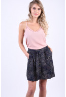 Fusta Vero Moda Ida Short Button Night Sky