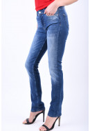 Women Jeans Vero Moda Vmflashy Nw Straight Jeans Medium Blue Denim