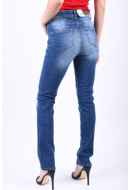 Blugi Dama Vero Moda Vmflashy Nw Straight Jeans Medium Blue Denim