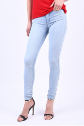 Blugi Dama Vero Moda Vmwonder New Nw Skinny Jegging Lb Light Blue Denim