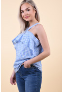 Bluza Dama Pieces Pcginette 2/4 Off Shoulder Top Regatta