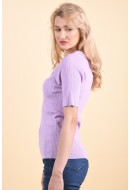 Bluza Dama Object Elis Knit Orchid Bloom