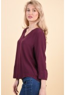Bluza Dama Object Bay 3/4 Repeat Port Royale