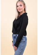 Body Vero Moda Freya Silky Shirt Black