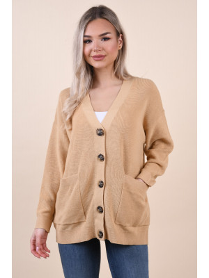 Cardigan Dama Selected Falma Croisant