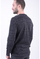 Pulover Barbati Jack&Jones Jcoiowa Knit Crew Neck Black