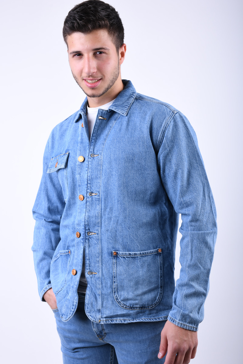 Jacheta Barbati Jack&Jones Worker Blue Denim