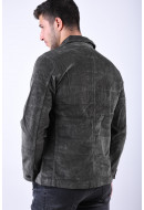 Geaca Barbati Selected Jackson Corduroy Black Ink