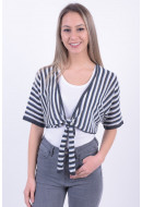 Cardigan Dama Only Onltia 2/4 Short Night Sky Stripe