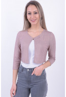 Cardigan Dama Only Onlcarola 3/4 Frosted Almond
