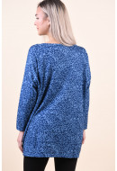Bluza Dama Only Caralba 3/4 Faded Denim